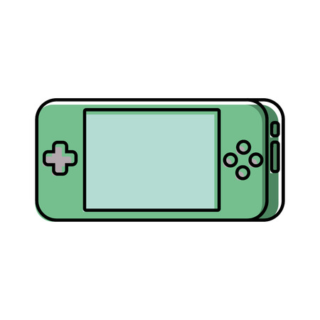 portable video game console gadget technology vector illustration 版權商用圖片 - 89850683
