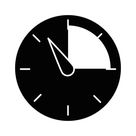 manometer geïsoleerd pictogram vector illustratie ontwerp Stock Illustratie