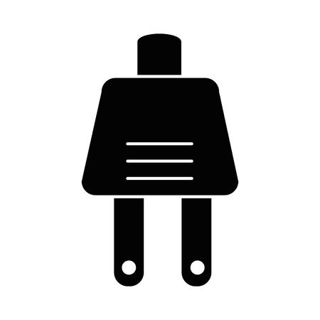 エネルギー プラグ コネクタ アイコン ベクトル イラスト デザイン  イラスト・ベクター素材