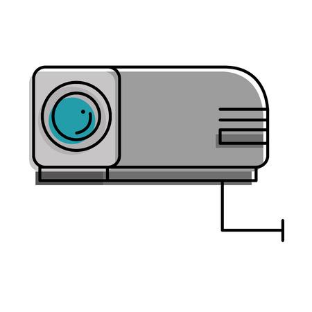straal video geïsoleerd pictogram vector illustratieontwerp