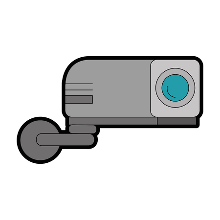 beam video isolated icon vector illustration design Vector Illustration