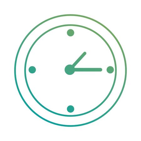 Horloge temps isolé conception d'icône vector illustration Banque d'images - 89856011