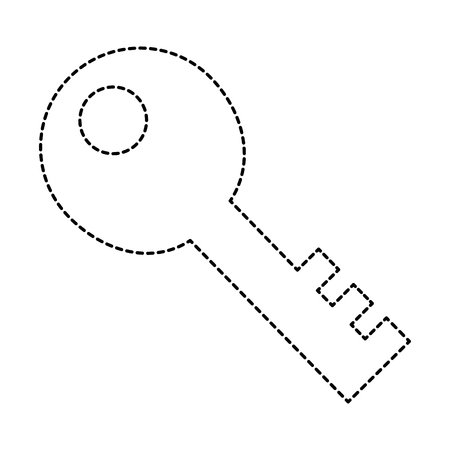 old key isolated icon vector illustration design