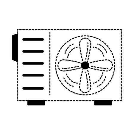 air conditioner isolated icon vector illustration design Фото со стока - 89879038