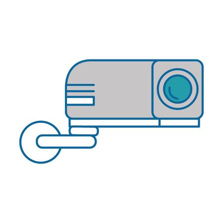 Straal video geïsoleerd pictogram vector illustratieontwerp Stockfoto - 89879195
