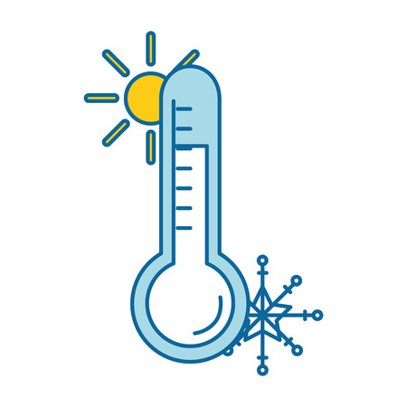 thermometer device isolated icon vector illustration design