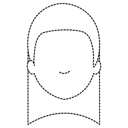 beautiful woman head avatar character vector illustration design Ilustracja