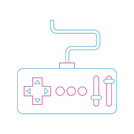 Illustration vectorielle de télécommande émetteur drone technologie Banque d'images - 89886473