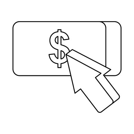 payment online mobile shopping market vector illustration Illustration