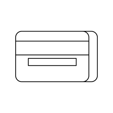 bank credit debit card payment online vector illustration