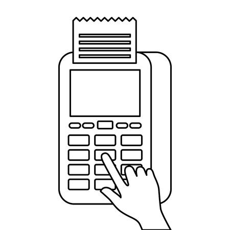 ハンドプレス ボタン nfc 決済モバイル dataphone