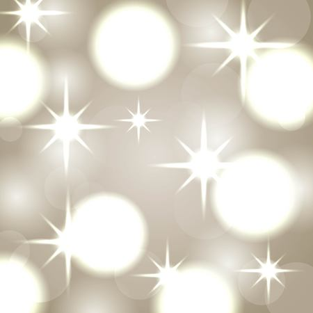 elegant christmas background with abstract lights vector illustration Illustration