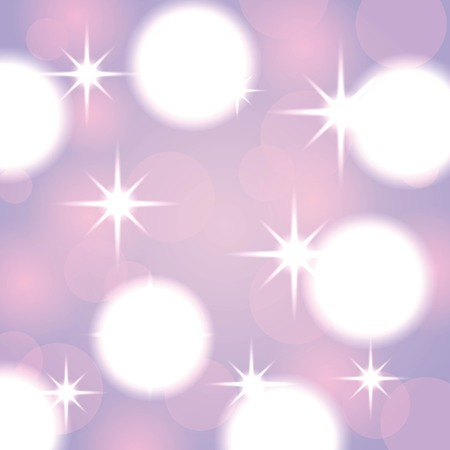 elegant christmas background with blurred abstract lights vector illustration