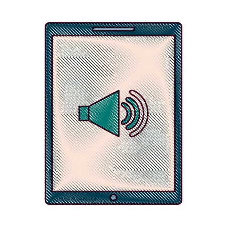 Device technology tablet computer sound volume button vector illustration Фото со стока - 89974123