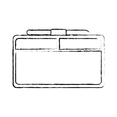 Graphics tablet technology tool for creative design, vector illustration. Illustration