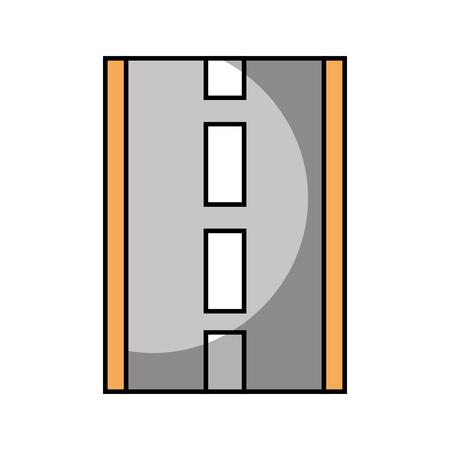 道路や通りのナビゲーションの概念図