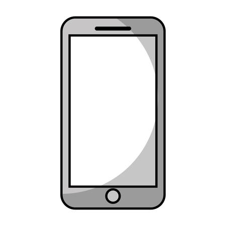 mobile phone smart device gadget vector illustration Illustration