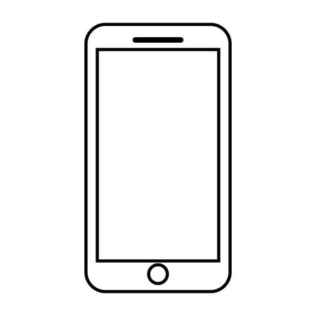 Gerät des intelligenten Geräts des Handys, Vektorillustration.