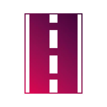 道路や街路ナビゲーション概念ベクトル図  イラスト・ベクター素材