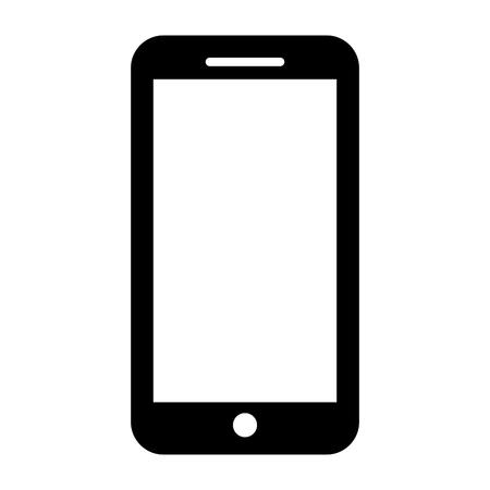 Ilustración de vector de teléfono móvil dispositivo inteligente gadget Ilustración de vector