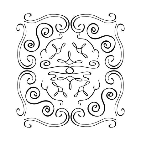 ヴィンテージ要素およびページ装飾華やかなスクロール ベクトル図