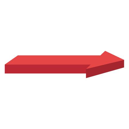方向矢印アイコン ベクトル イラスト デザインを分離しました。  イラスト・ベクター素材