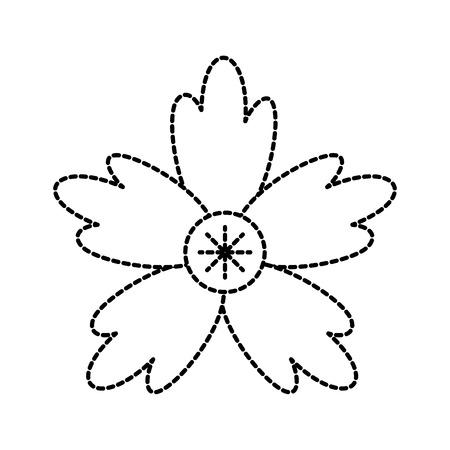 crocus 꽃 자연 장식 장식 벡터 일러스트 레이션 일러스트