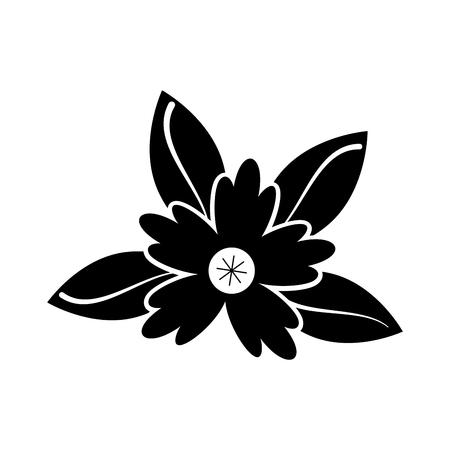 crocus 꽃 자연 장식 벡터 일러스트 레이 션을 단풍 일러스트