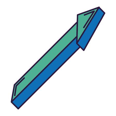 方向矢印分離アイコンベクトルイラストデザイン  イラスト・ベクター素材