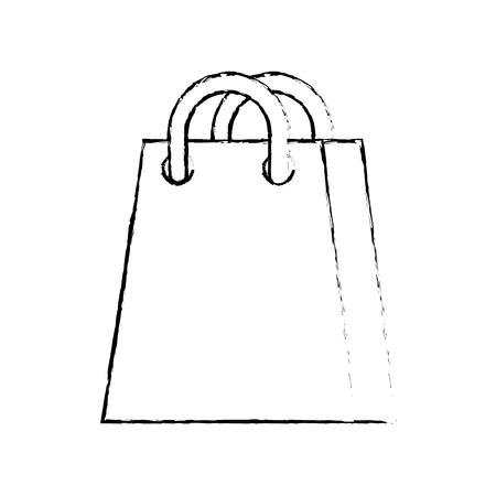 shopping bag ecommerce marketing online app vector illustration Ilustrace