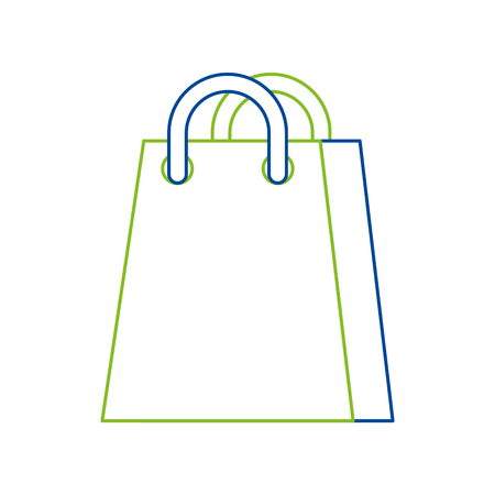 Boodschappentas vectorillustratie
