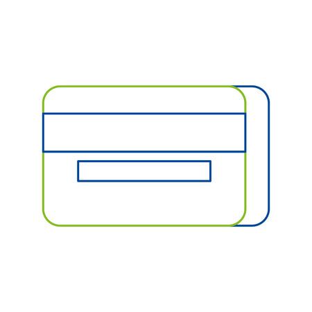 Credit or debit card vector illustration