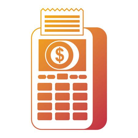 지불 온라인 데이터 폰 동전 돈 디지털 벡터 일러스트 레이션