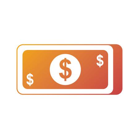 お金紙幣ドル現金通貨のアイコン ベクトル図 写真素材 - 90092101