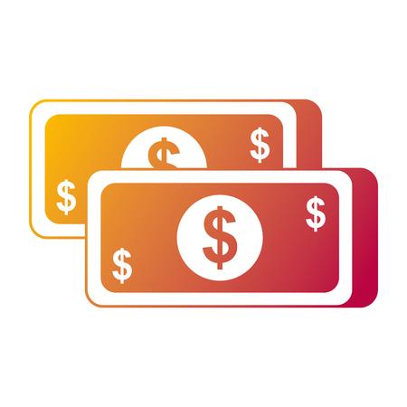 お金紙幣ドル現金通貨のアイコン ベクトル図 写真素材 - 90092116
