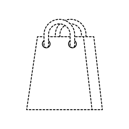 shopping bag ecommerce marketing online app vector illustration Illustration