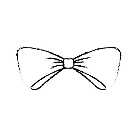 クリスマス弓の装飾装飾装飾繊細なベクトルイラスト