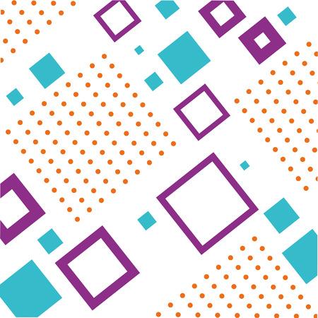 textuur van geometrische vormen gekleurde cijfers patroon abstract vector illustratie Stock Illustratie