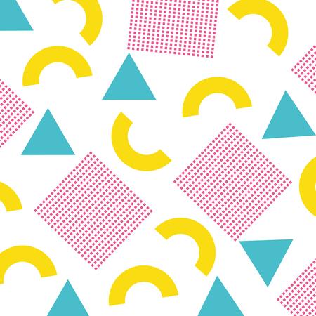 textuur van geometrische vormen gekleurde cijfers patroon abstracte vectorillustratie