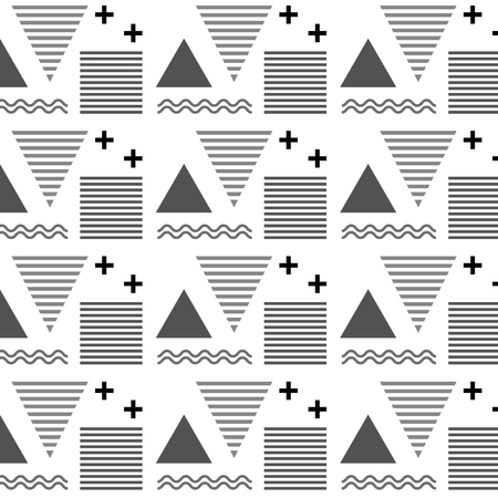 기하학적 인 도형의 질감 패턴 추상적 인 벡터 일러스트 수치