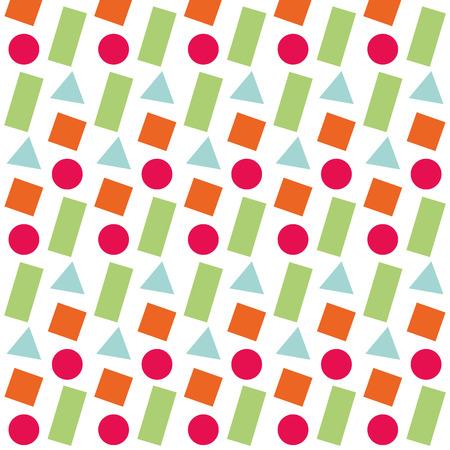 幾何学的図形色の数字パターン抽象的なベクトル イラストのテクスチャ  イラスト・ベクター素材