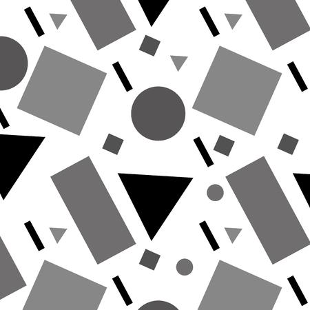 幾何学的図形の数字パターン抽象的なベクトル イラストのテクスチャ  イラスト・ベクター素材