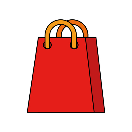 shopping bag ecommerce marketing online app vector illustration Stock Vector - 90147488