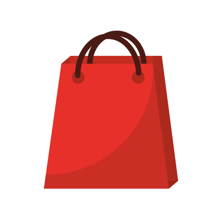 shopping bag icon image vector illustration design  Illustration