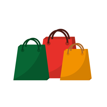shopping bag icon image vector illustration design  Illustration