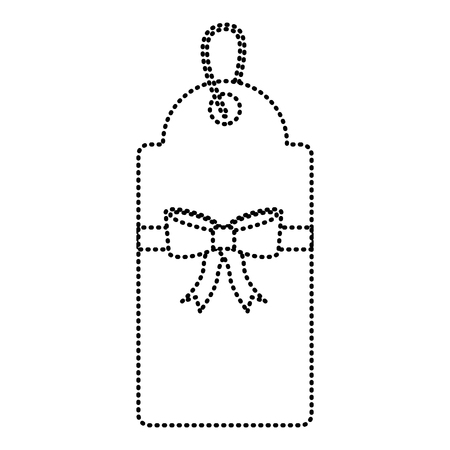 Icône de balise blank image design noir pointillé ligne web Banque d'images - 90164144