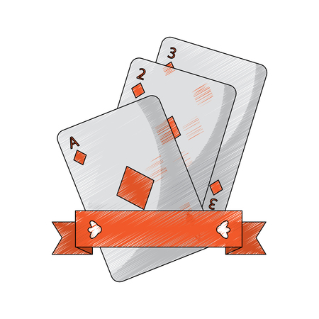 diamonds suit emblem french playing cards related icon icon image vector illustration design