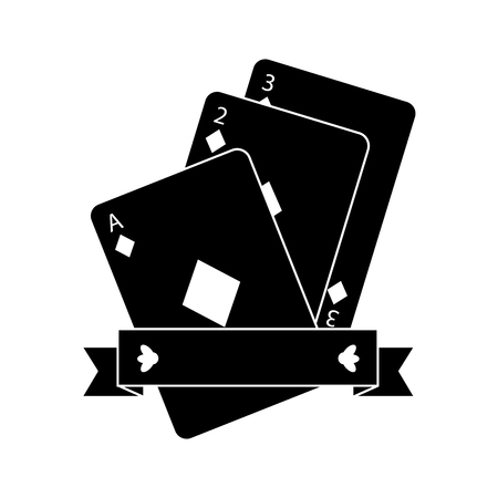 diamonds suit emblem french playing cards related icon icon image vector illustration design  black and white Standard-Bild - 90167014