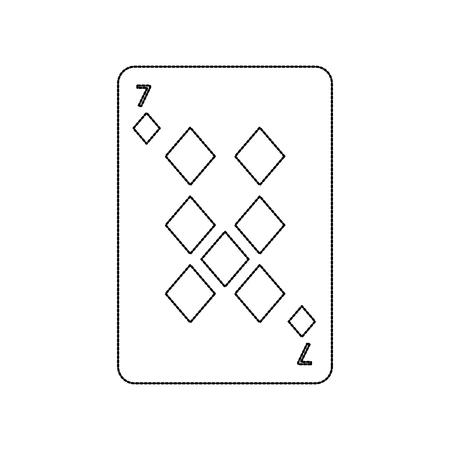 Ilustración del vector del icono del casino del diamante del naipe del póker Foto de archivo - 90167464