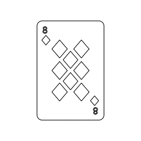 火かき棒のトランプ ダイヤモンド カジノ アイコン ベクトル図 写真素材 - 90167465